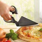 Pizzaschere im Einsatz